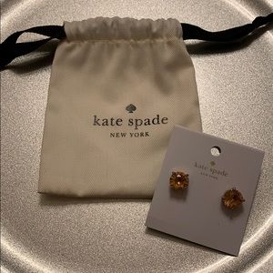 NWT KATE SPADE ROSE GOLD STUDS